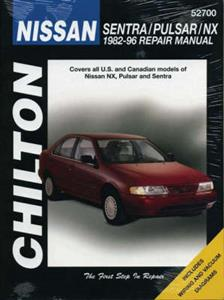 Nissan Sentra Pulsar 100NX 1982-96 Repair Manual
