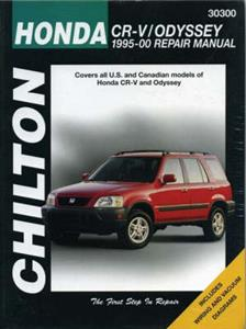 Honda CR-V And Odyssey 1995-00 Repair Manual
