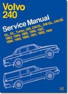 Volvo 240 1983-93 Factory Service Manual US Spec