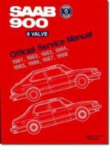 Saab 900 8 Valve 1981-88 Official Service Manual