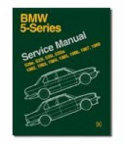 BMW 5 Series 1982-88 E28 Factory Service Manual 528e 533i 535i 535is