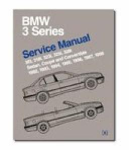 BMW 3 Series 1992-98 E36 Workshop Manual 318 323 325 328 And M3