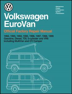 Volkswagen Eurovan (Transporter) 1992-99 Official Factory Repair Manual