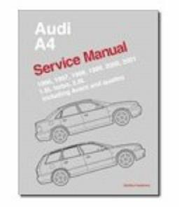 Audi A4 1996-2001 Factory Service Manual 1.8T And 2.8 V6 Including Avant And Quattro Not S4