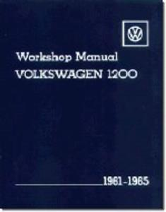 Volkswagen 1200 Beetle And Karmann Ghia 1961-65 Workshop Manual OUT OF PRINT