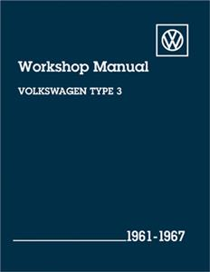 Volkswagen Type 3 1961-67 Factory Workshop Manual