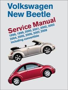 VW Beetle 1998-2008 Official Service Manual 1.8 Turbo 2.0 2.5 Petrol & 1.9 TDI Diesel