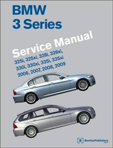 BMW 3 Series 2006-09 E90/1/2/3 Factory Service Manual 325i 328i 330i 335i Inc 4WD Sedan Coupe Wagon Convertible