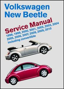 Volkswagen New Beetle 1998-2010 Service Manual