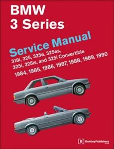 BMW 3 Series 1984-90 E30 Workshop Manual