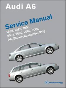 Audi A6 1998-2004 Petrol Factory Service Manual Includes quattro Allroad S6 And RS6