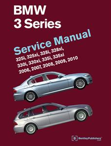 BMW 3 Series 2006-10 E90/1/2/3 Factory Service Manual 325i 328i 330i 335i Inc 4WD Sedan Coupe Wagon Convertible