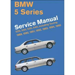BMW 5 Series 1989-95 E34 Workshop Manual 525 530 535 And 540