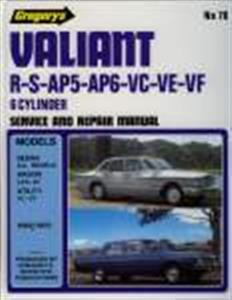 Valiant R To VF 1962-70