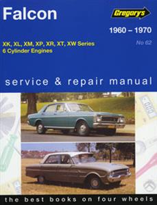 Ford Falcon 1960-70 Repair Manual - XK XL XM XP XR XT XW 6Cyl