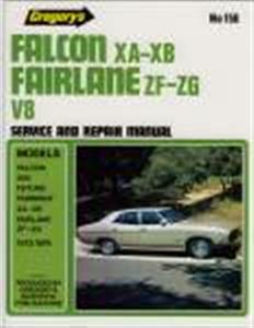 Ford Falcon XA XB And Fairlane V8 1972-76 Repair Manual