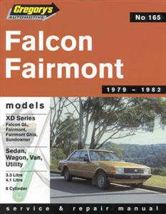 Ford Falcon Fairmont XD 6CYL 1979-82 Repair Manual