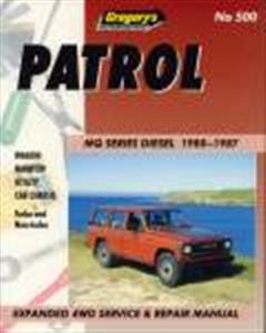 Nissan Patrol Diesel 1980-87 MQ Repair Manual