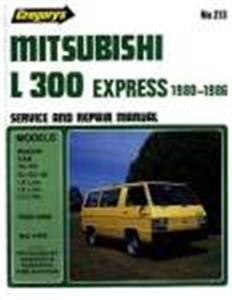 Mitsubishi L300 Express 1980-86 Repair Manual