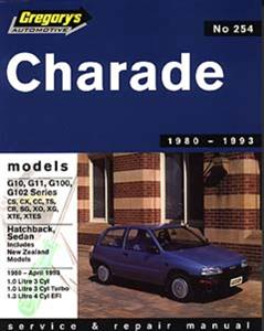 Daihatsu Charade 3 & 4 Cyl 1980-93 Repair Manual