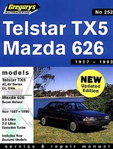 Ford Telstar & Mazda 626 Sedan & Hatch 1987-92 Wagon 1987-97 Repair Manual 2.0 2.2