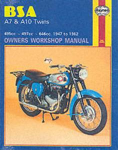 BSA A7 A10 Twins 1947-63 Repair Manual