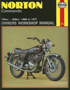 Norton Commando 1968-77 Repair Manual