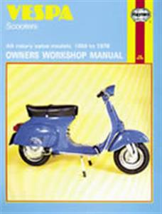 Vespa Scooter 1959-78 Repair Manual