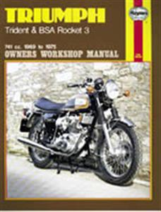 Triumph Trident & BSA Rocket 1969-75 Repair Manual