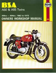 BSA A50 A65 Twins 1961-73 Repair Manual
