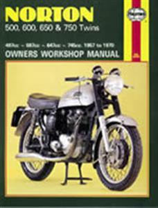 Norton 500 600 650 750 Twins 1957-70 Repair Manual