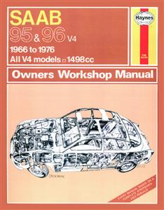 Saab 95 & 96 1966-76 Repair Manual