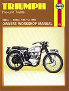 Triumph Pre Unit Twins 1947-62 Repair Manual