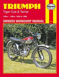 Triumph Tiger Cub & Terrier 1952-68 Repair Manual
