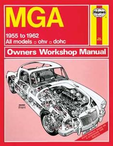 MGA Coupe & Roadster Inc Twin Cam 1955-62 Repair Manual