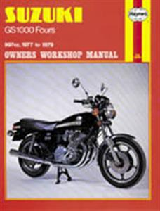 Suzuki GS1000 Four 1977-79 Repair Manual