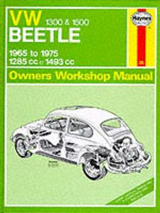 VW Beetle 1.3 1.5 1965-75 Repair Manual