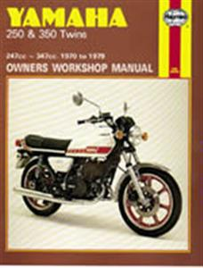 Yamaha 250 350 Twins 1970-79 Repair Manual