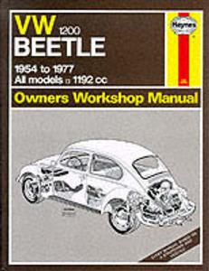 VW Beetle 1200 1954-77 Repair Manua;