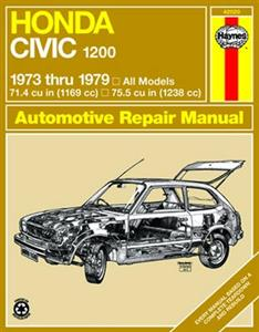 Honda Civic 1200 1973-79 Repair Manual