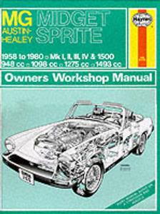 MG Midget & Austin Healey Sprite 1958-80 Repair Manual