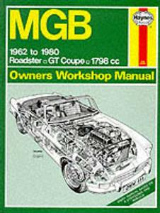 MGB 1962-1980 Repair Manual