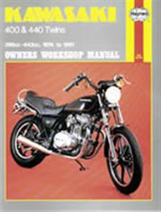 Kawasaki 400 & 440 Twins 1974-81 Repair Manual