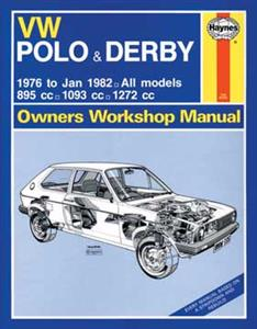 VW Polo Derby 1976-77 Repair Manual