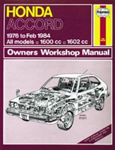 Honda Accord 1976-84 Repair Manual