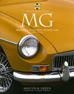 MG Britains Favourite Sports Car - Haynes Classic Makes 3rd Ed OUT OF PRINT