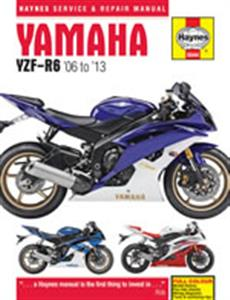 Yamaha YZF-R6 2006-13 Repair Manual