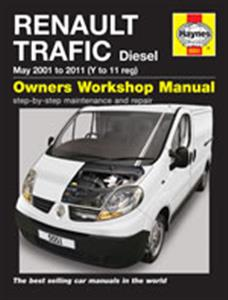 Renault Trafic 2001-11 Diesel Repair Manual