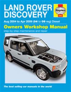 Land Rover Discovery 2004-09 Diesel Repair Manual