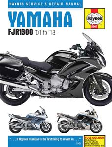 Yamaha FJR1300 2001-13 Repair Manual